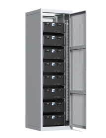 Indoor Cabinet for 8 batteries