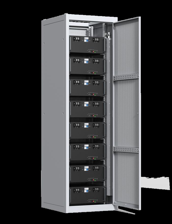 Indoor Cabinet for 8 batteries